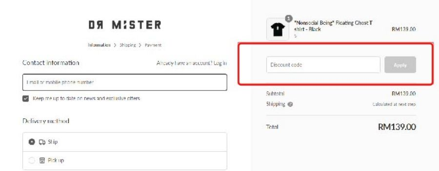how-to-use-dr-mister-promo-code
