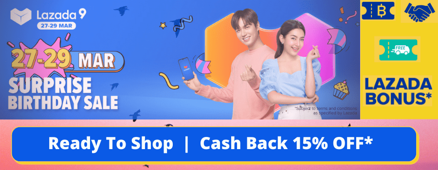 Shop For The Greatest Deals During Lazada Birthday Surprise Sale 2021